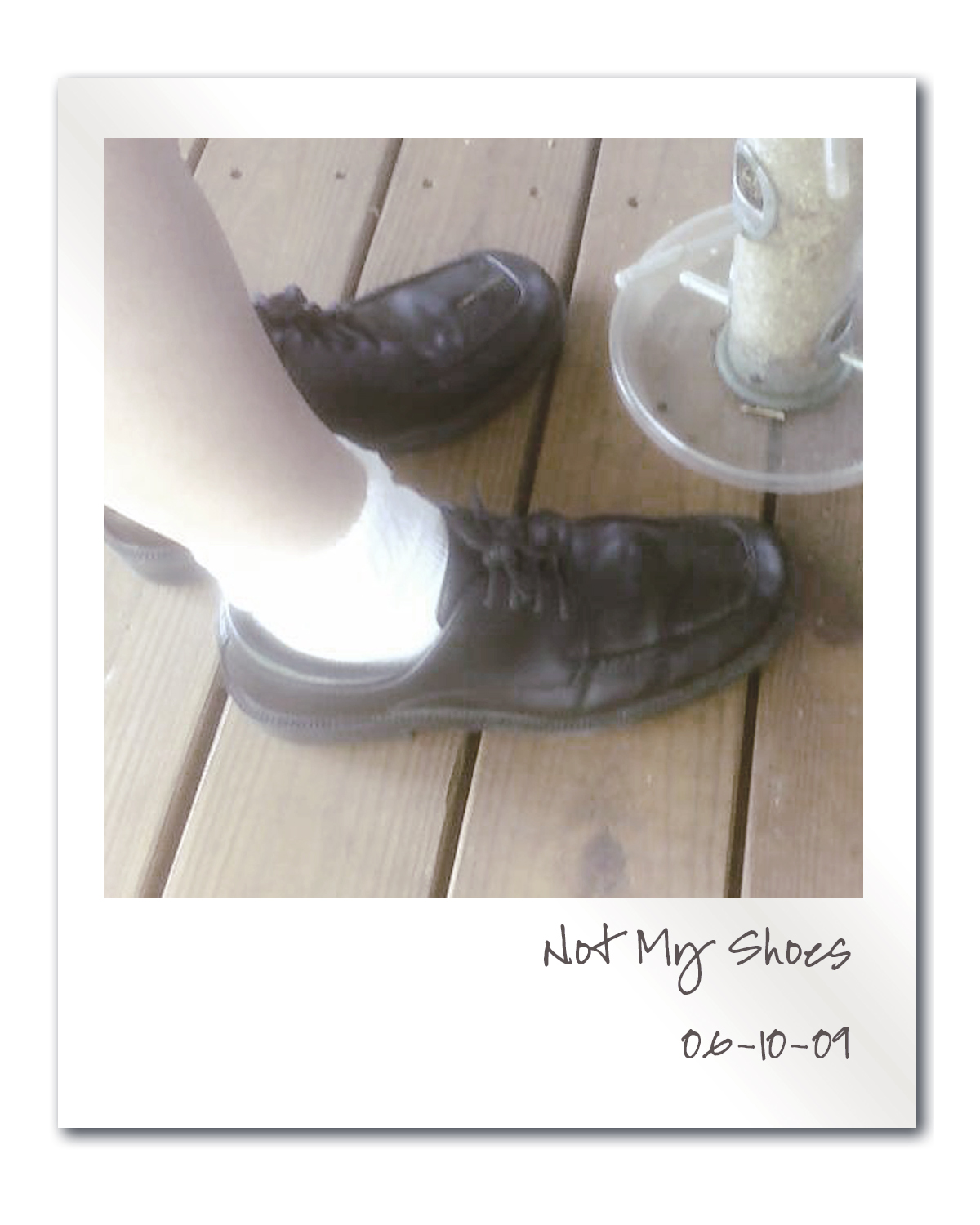 Not My Shoes - by Angela Josephine, blog post about authenticity, running