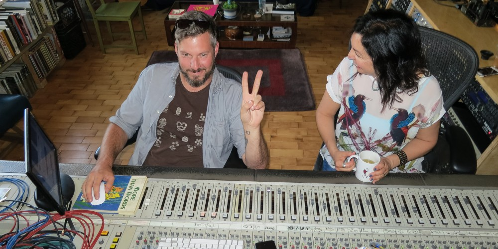 Chris Bathgate and Angela Josephine at High Bias Recording for Daylight, SBSV2 Detroit Sessions