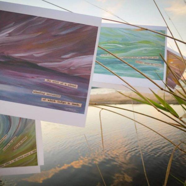 Inland Seas Series Art Cards - by Angela Josephine