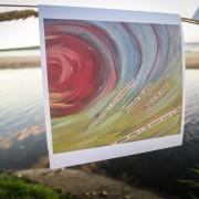 """Chime"" Inland Seas Art Card by Angela Josephine"
