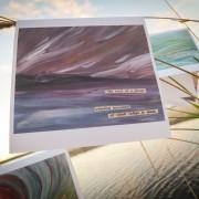 """Indigo"" Inland Seas Art Card by Angela Josephine"