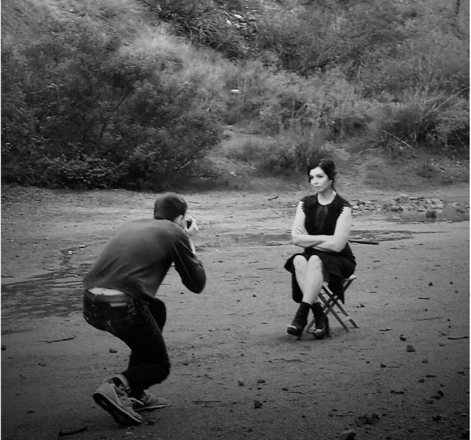 John Mark Hanson photographs Angela Josephine at Griffith Park.